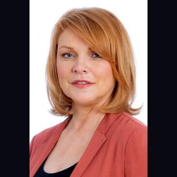 Linda Duberley, journalist and presenter, by Robert James Taylor.