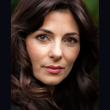 Silvia Colloca, actor, by Robert James Taylor.
