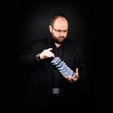 Neil Edwards, magician, by Robert James Taylor.