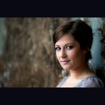 Christina Wilson. singer. Photographed by Robert James Taylor.